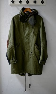 Trig & Polished Camping/ Adventure Looks www.trigandpolished.com Junya Watanabe Man FW10 M51 Fishtail Parka