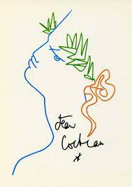 """""""Les poètes ne dessinent pas, ils dénouent l'écriture pour la renouer autrement."""" Cocteau à Picasso"""