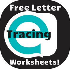 Fun and engaging letter tracing worksheets. Free!