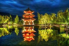 Absolutely stunning!!  Trey is a photography Deity!  The Nameless Pagoda Sleeps from #treyratcliff at www.StuckInCustom.com - all images Creative Commons Noncommercial.