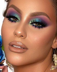 Makeup Eye Looks, Beautiful Eye Makeup, Unique Makeup, Bridal Makeup Looks, Creative Makeup Looks, Colorful Eye Makeup, Sexy Makeup, Smokey Eye Makeup, Glam Makeup