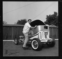 """Ed """"Big Daddy"""" Roth, from George Barris archive"""