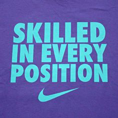 Is it better ti be: Skilled in every position, or a master of just one?