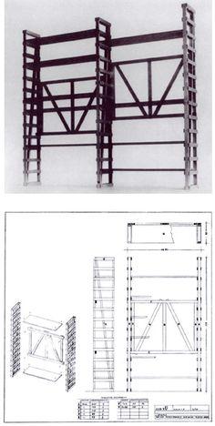 Libreria  Design: Enzo Mari