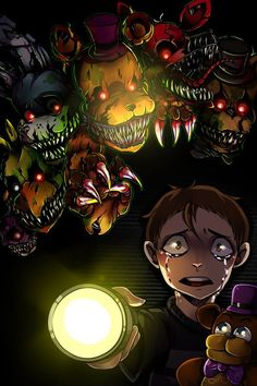 Discovered by A. Find images and videos about fnaf, five nights at freddys and fnaf 4 on We Heart It - the app to get lost in what you love. Five Nights At Freddy's, Yandere, Animatronic Fnaf, Creepypasta, Fnaf Wallpapers, Fnaf Drawings, Fnaf Sister Location, Anime Fnaf, Freddy Fazbear