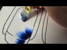 Tecnica One stroke : Pennelli,Sfumature, Rose [2 Parte] - YouTube