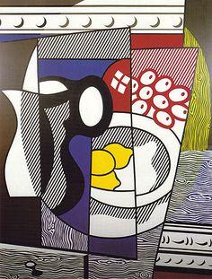 ROY LICHTENSTEIN - still life with lemons 1975