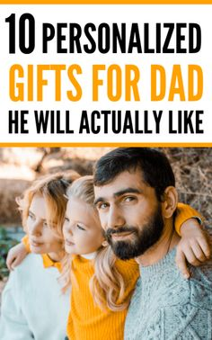 10+ Personalized Gifts For Dad For Father's Day. IF you are stuck looking for the perfect personalised Father's Day gifts for dad, check out this FUN list of CHEAP & UNIQUE Gifts for dad for Father's day!