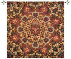 Rangoli Carmel Wall Tapestry by Julianna James©