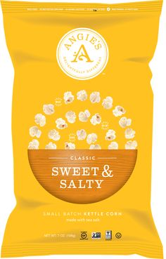 Love it! Angie's Sweet & Salty is the best!