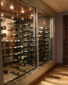 Cable Wine System Wine Cellar by Papro Consulting 1