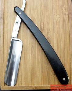 C.V. Heljestrand No 506  Rasiermesser ,straight razor, coupe choux,