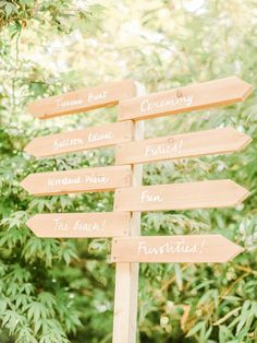 Wooden Direction Sign | Belle and Beau Fine Art Wedding Photography | The Matara Centre Wedding | Peonies | Blush & Gold  Wedding Decor | http://www.rockmywedding.co.uk/kiki-sunshine-stu/