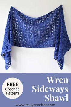 Prayer Shawl Crochet Pattern, Prayer Shawl Patterns, Poncho Au Crochet, Crochet Prayer Shawls, Crochet Wrap Pattern, Crochet Shawls And Wraps, Crochet Scarves, Crochet Clothes, Crochet Patterns