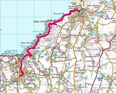 A scenic walk along the South West Coastal path from St Agnes to Perranporth. Passing through Perranport Airfield and an old military site. Cornish Coast, St Agnes, Country Walk, Beach Road, How To Start Running, Walks, Saints, Workshop, Map