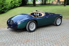 Ferrari 166 MM Barchetta '1948–50 V12 Engine, Leaf Spring, Wheels And Tires, Road Racing, Touring, Classic Cars, Automobile, Vehicles, Hd Wallpaper