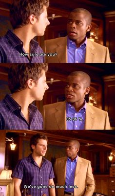 Shawn and Gus - Psych.