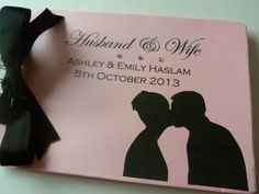 Wedding Gift Personalised Wedding Scrapbook/Photo Album/Guest Book   All Your Memories MISI Handmade Shop