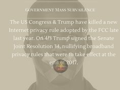 The United States Congress and President Trump have killed a new Internet privacy rule adopted by the Federal Communications Commission (FCC) late last year, but state legislators have stepped in t…