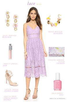 Lace Midi Dresses