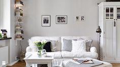 Gustowne, pastelowe mieszkanie w bloku, styl prowansalski