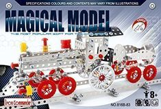 Magical Model DIY Metal Train With Track (555pcs)  #Transformers #modeltraindiy
