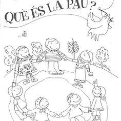 QUÈ ÉS LA PAU? Presentació de Núria Laspeñas a Picassa Dodged A Bullet, Preschool Learning Activities, Teaching English, Special Day, Mandala, Doodles, Bullet Journal, Album, Ideas Para