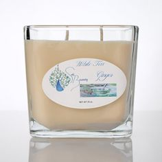 White Tea Ginger Candle by SaiSkinCare on Etsy