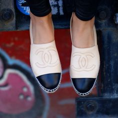 I HAVE BEEN LOOKING FOR THESE!!!! Chanel loafers! Must have!!!!