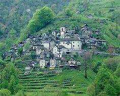 Corippo Ticino Switzerland