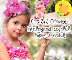 Copilul Orhidee - intelegand copilul hiper-sensibil Parenting, Childcare, Natural Parenting