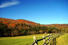 Woodstock VT Area - Mount Hunger - Barnard, Vermont