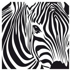 zebra art!
