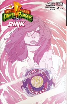 Mighty Morphin Power Rangers Pink (2016) 1F