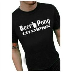 #Bewild                   #ApparelTops              #Beer #Pong #Shirts #Beer #Pong #Champion #T-Shirt  Beer Pong Shirts - Beer Pong Champion T-Shirt                                 http://www.seapai.com/product.aspx?PID=6766356