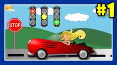 Learn Traffic Signs With Street Vehicles and Trucks for Children #1 by JeannetChannel