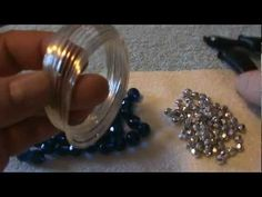 How To Make A Beautiful and Simple Memory Wire Bracelet~Great For Christ...