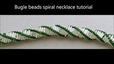 This is a tutorial for the Bugle bead spiral necklace or bracelet. It is very easy and good for beginner beaders.