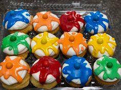 Paintball Cupcakes, Custom Cupcakes, Cupcake Toppers, Sugar, Cookies, Desserts, Food, Personalised Cupcakes, Crack Crackers