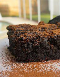 AIP PMS Brownies - frozen blueberries, carob powder (sub cocoa), coconut butter, coconut/maple sugar (sub another sweetener), cream of tartar, baking soda, sea salt, gelatin, water