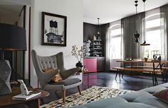 Der Berliner Wohnung von Peter Fehrentz http://wohnenmitklassikern.com/projekte/der-berliner-wohnung-von-peter-fehrentz/