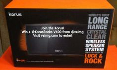 Korus Wireless #Speakers review - #music - #Giveaway of V400 speaker valued at $350