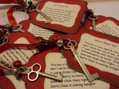 Santa's Magic Keys by candee porter - Cards and Paper Crafts at Splitcoaststampers