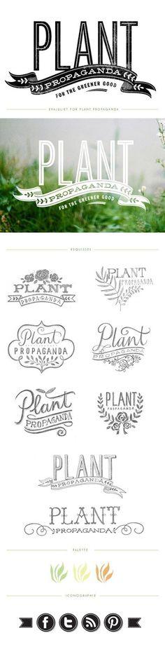 Mon carnet: plant propaganda blog.evajuliet.com