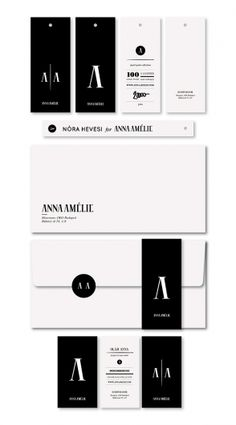 corporate design. i like black and white