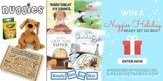 Win A Nuggies Holiday Ready Set Go Box: Includes Nuggies Vol. 4, Oui Oui Gigi: Coloring Edition