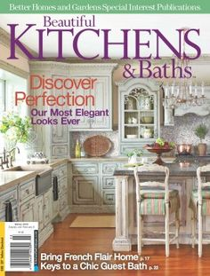 Beautiful Kitchens and Baths Magazine Cover Featuring Habersham