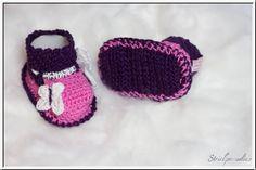#Strickparadies - #Babyschuhe mit #Namen