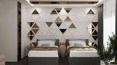Bedroom ideas, explanation number 4197620986 - look at this essential cool escape. Bedroom False Ceiling Design, Luxury Bedroom Design, Bedroom Bed Design, Room Decor Bedroom, Bedroom Ideas, Contemporary Bedroom, Modern Bedroom, Room Interior, Interior Design