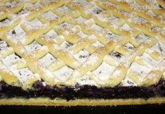 Čučoriedkový mrežovník s krupicou - Recept Pie, Food, Anna, Basket, Torte, Cake, Fruit Cakes, Essen, Pies